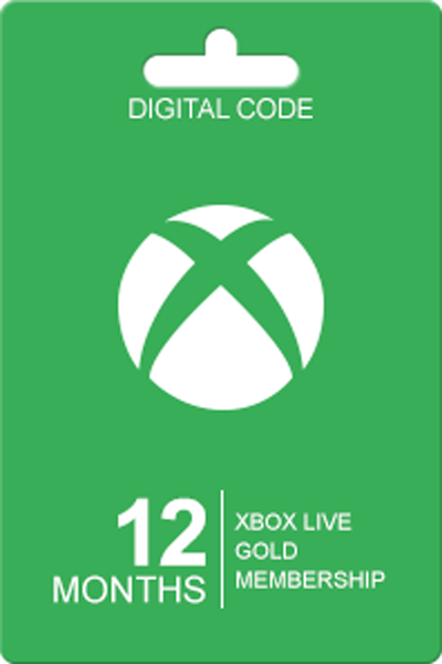 Xbox Live Gold 12 Maanden Abonnement
