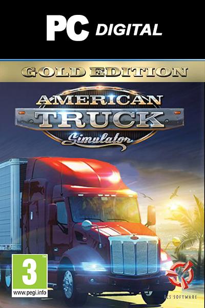 American Truck Simulator Gold Edition PC