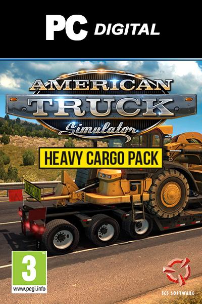 American Truck Simulator - Heavy Cargo Pack DLC PC