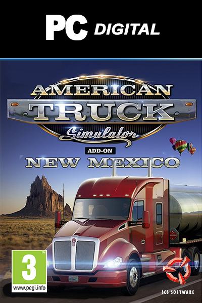 American Truck Simulator - New Mexico DLC PC