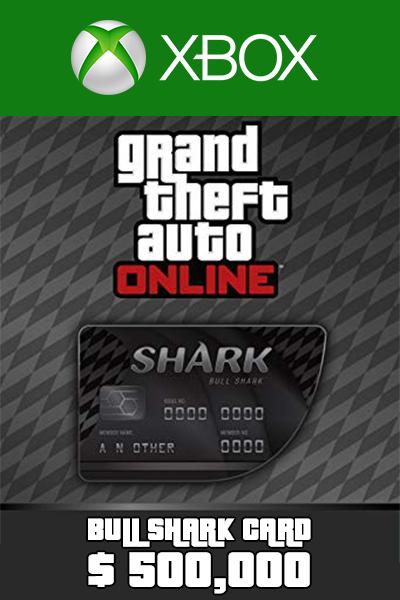 Bull Shark Cash Card 500,000 USD