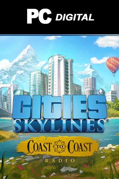 Cities: Skylines - Coast to Coast Radio DLC PC