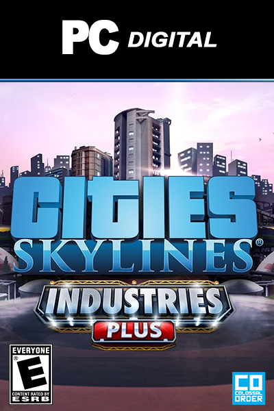 Cities: Skylines - Industries Plus DLC PC