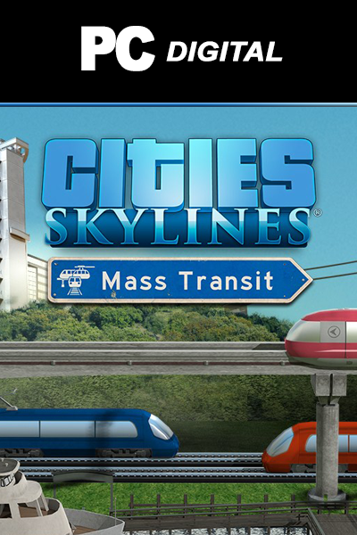 Cities: Skylines - Mass Transit DLC PC