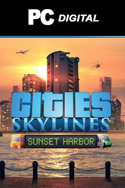 Cities: Skylines - Sunset Harbor DLC PC