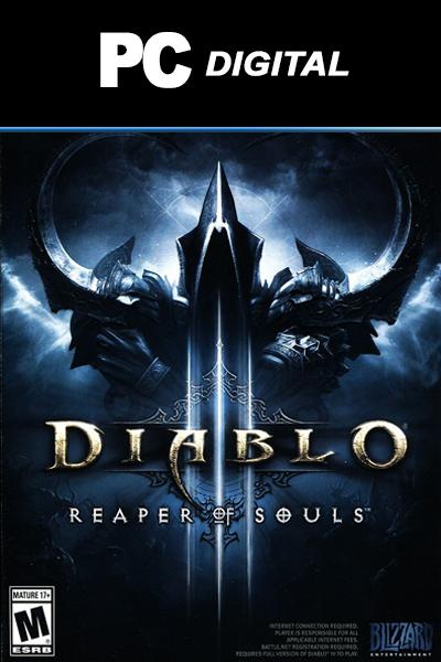 Diablo 3: Reaper of Souls DLC PC