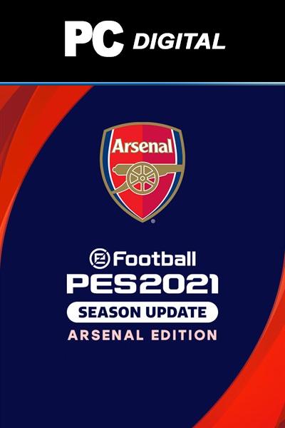 eFootball PES 2021 Season Update: Arsenal Edition PC
