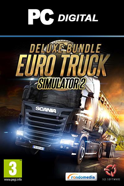 Euro Truck Simulator 2 - Deluxe Bundle PC