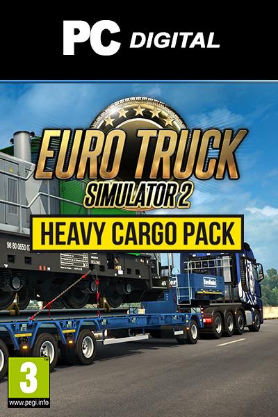 Euro Truck Simulator 2 - Heavy Cargo Pack DLC PC