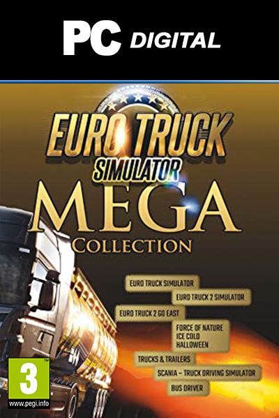 Euro Truck Simulator Mega Collection PC