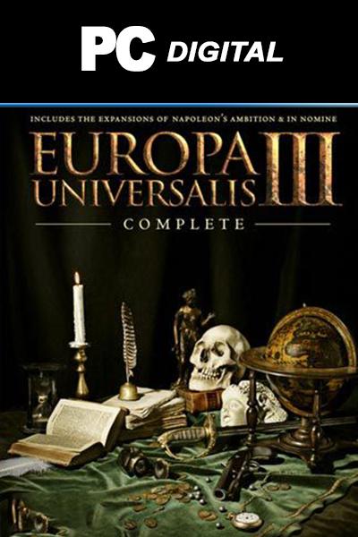 Europa Universalis III: Complete PC
