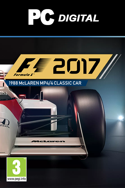 F1 2017 '1988 McLAREN MP4/4 CLASSIC CAR DLC PC