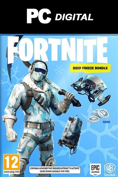 Fortnite Deep Freeze Bundle DLC PC