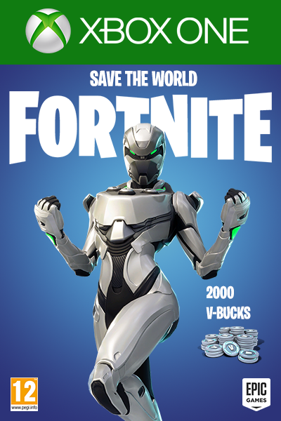 Fortnite + Eon Skin + 2000 V-Bucks + Save The World Xbox One