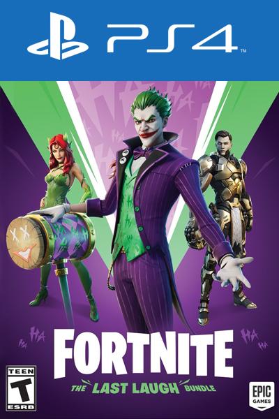 Fortnite - The Last Laugh Bundle DLC PS4