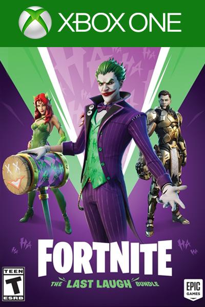 Fortnite - The Last Laugh Bundle DLC Xbox One