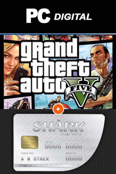 GTA V + Great White Shark Cash Card PC