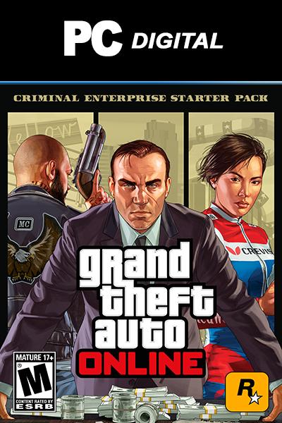 Grand Theft Auto V - Criminal Enterprise Starter Pack DLC PC