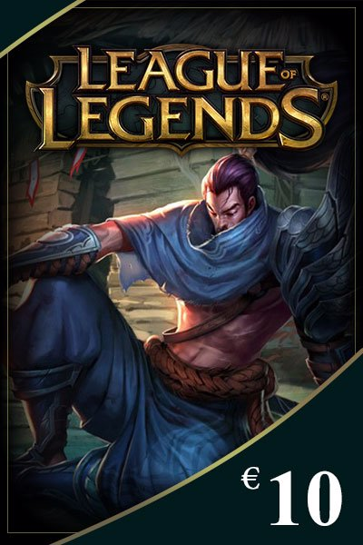 League of Legends Game Card 10 EUR