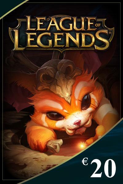 League of Legends Game Card 20 EUR