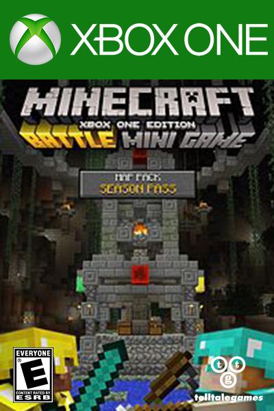 Minecraft - Battle Map Pack Season Pass DLC Xbox One