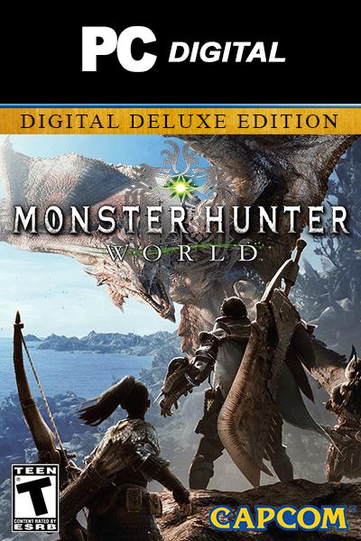 Monster Hunter World Digital Deluxe Edition PC
