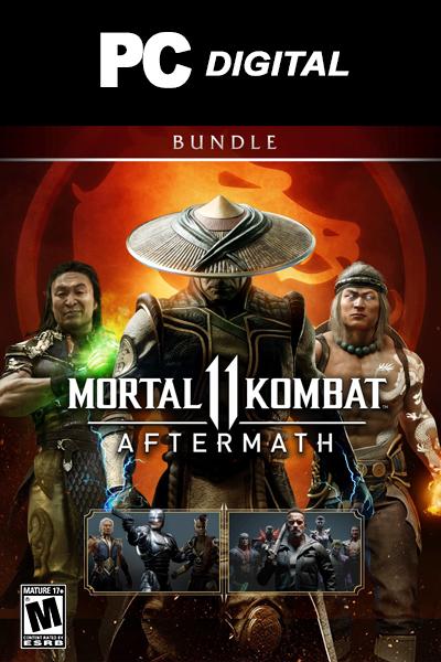 Mortal Kombat 11: Aftermath + Kombat Pack Bundle PC DLC