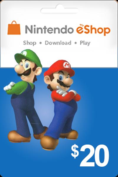 Nintendo 20 USD