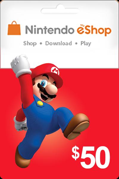 Nintendo 50 USD