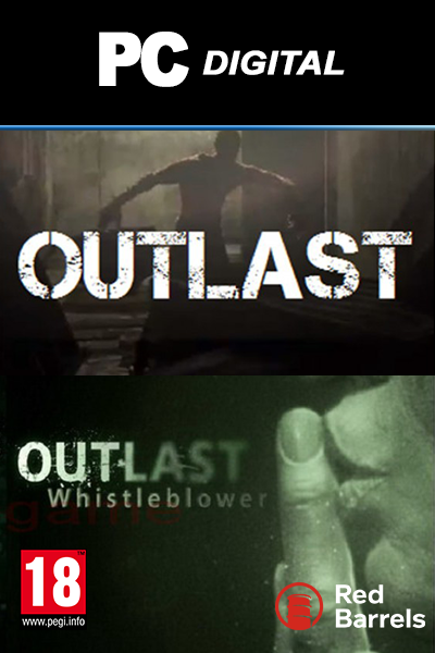 Outlast + Outlast: Whistleblower PC