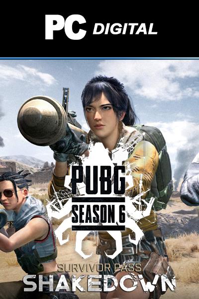 Playerunknown's Battlegrounds: Survivor Pass 6 (Shakedown) DLC PC