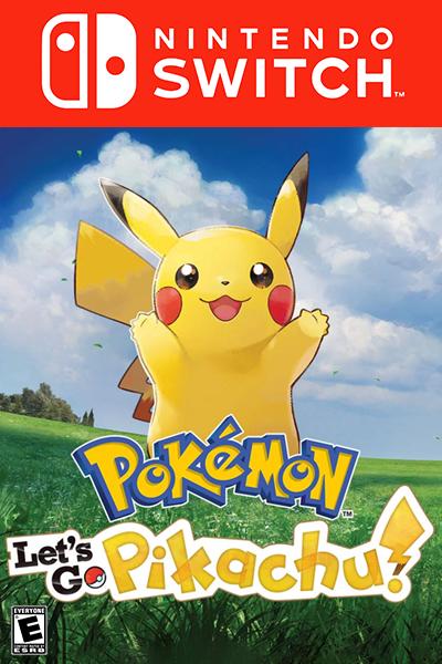 Pokémon: Let's Go, Pikachu Nintendo Switch