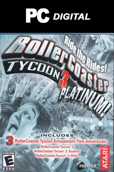 RollerCoaster Tycoon 3: Platinum PC