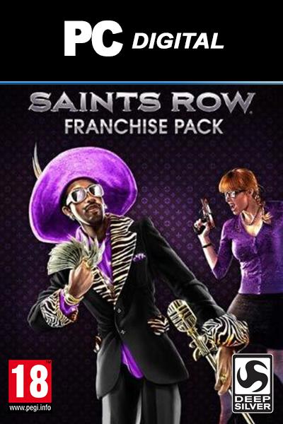Saints Row Ultimate Franchise Pack PC