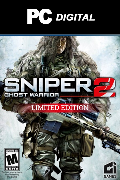 Sniper Ghost Warrior 2 Limited Edition PC