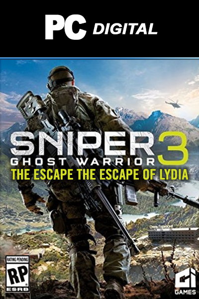 Sniper Ghost Warrior 3 PC + The Escape of Lydia DLC
