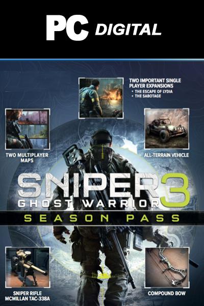 Sniper Ghost Warrior 3 Season Pass DLC PC