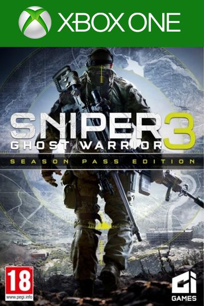 Sniper Ghost Warrior 3 Season Pass Edition DLC Xbox One