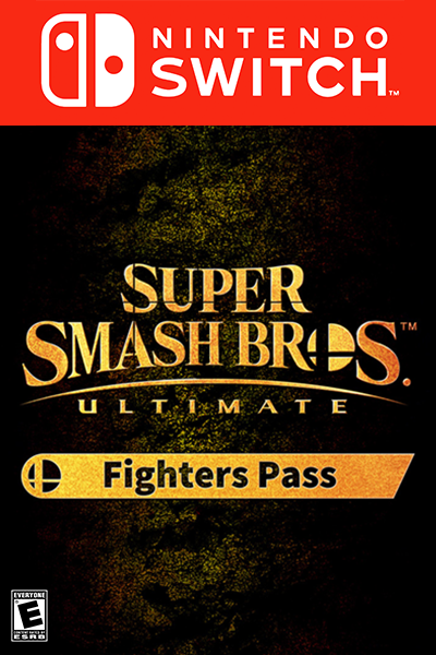 Super Smash Bros. Ultimate Fighters Pass DLC NS