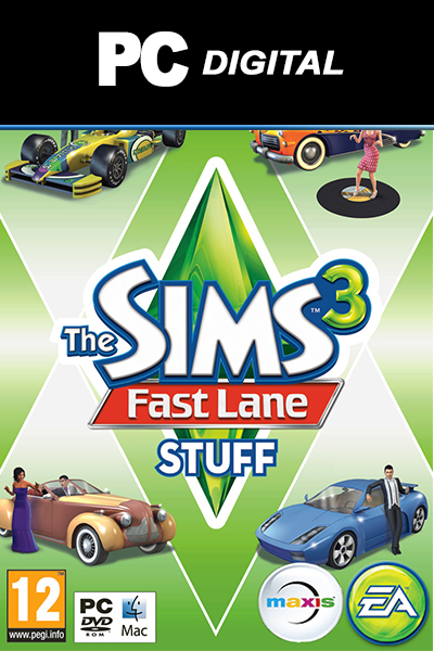 The Sims 3: Fast Lane Stuff DLC PC