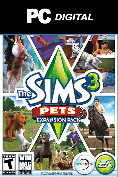 The Sims 3: Pets DLC PC