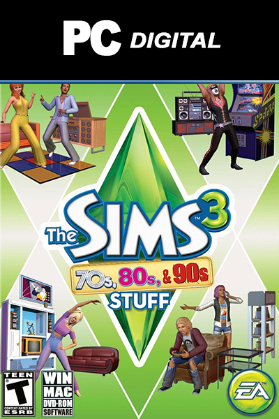 The Sims 3: 70s, 80s & 90s Stuff DLC PC