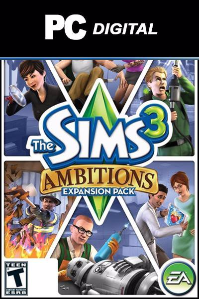 The Sims 3: Ambitions DLC PC