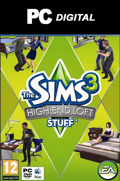 The Sims 3: High and Loft Stuff DLC PC