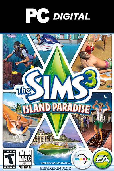 The Sims 3: Island Paradise DLC PC