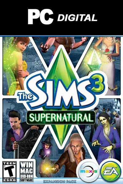 The Sims 3: Supernatural DLC PC