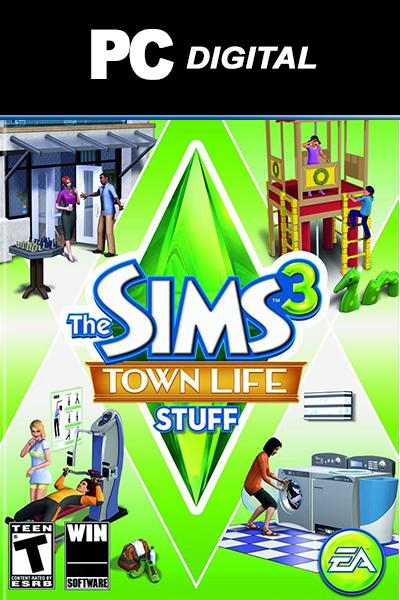 The Sims 3: Town Life Stuff DLC PC