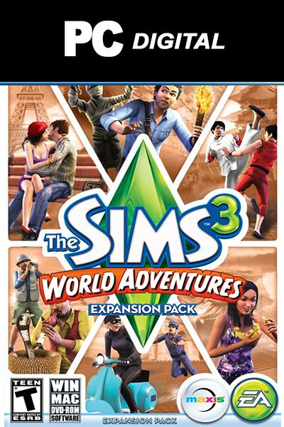 The Sims 3: World Adventures DLC PC