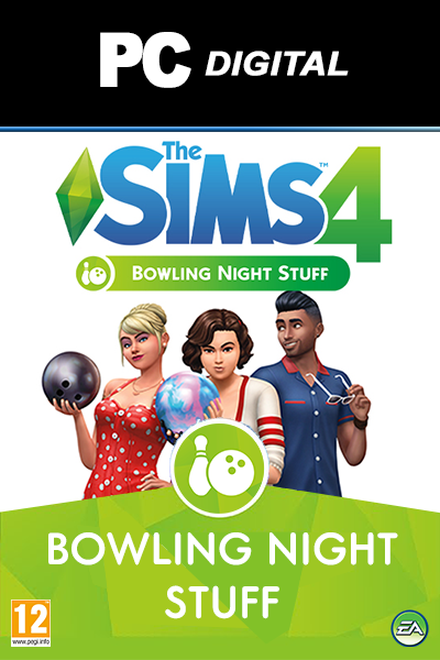 The Sims 4 Bowling Night Stuff DLC PC
