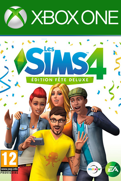 The Sims 4 Deluxe Party Edition DLC Xbox One